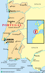 (Figure) Portugal map